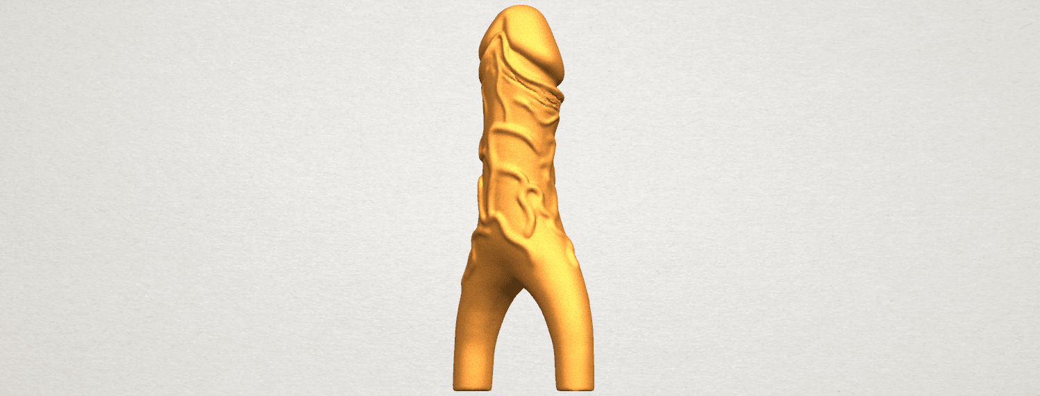TDA0317 Dick (ii) A06.png Download free STL file Dick 02 • Design to 3D print, GeorgesNikkei