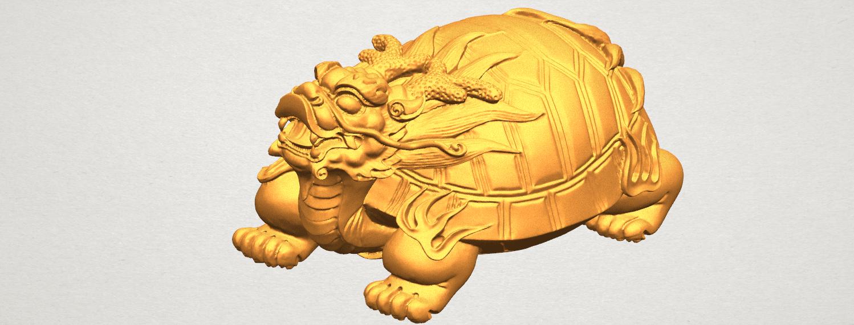 TDA0333 Dragon  Tortoise A08.png Télécharger fichier STL gratuit Tortue dragon • Objet imprimable en 3D, GeorgesNikkei