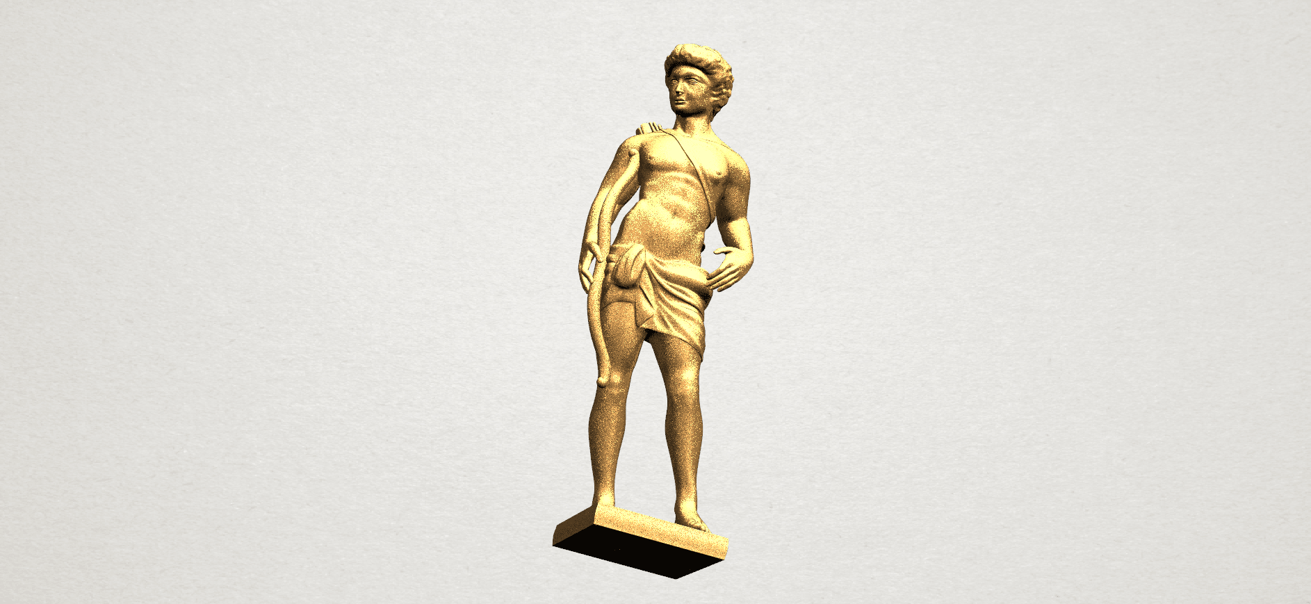Michelangelo (ii) - A06.png Download free STL file Michelangelo 02 • Template to 3D print, GeorgesNikkei