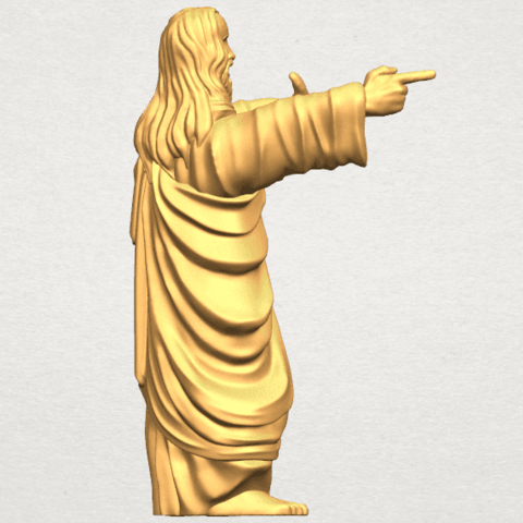 TDA0485 Jesus - Funny A06.png Download free STL file  Jesus - Funny • 3D printer template, GeorgesNikkei