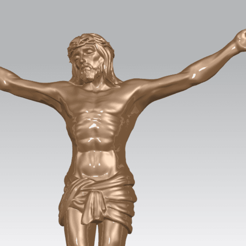 TDA0230 Jesus (i) A06.png Download free STL file Jesus 01 - top • Object to 3D print, GeorgesNikkei