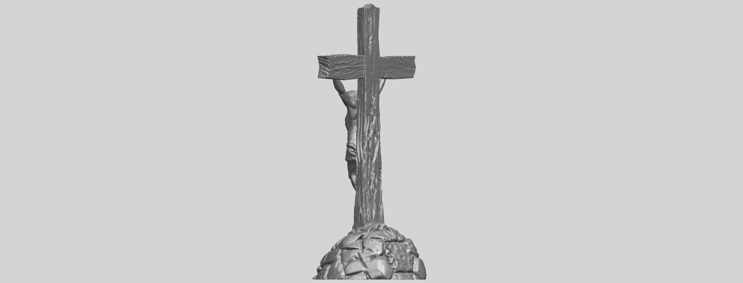 12_TDA0229_Jesus_with_cross_ii_88mmA05.png Download free STL file Jesus with cross 02 • Template to 3D print, GeorgesNikkei