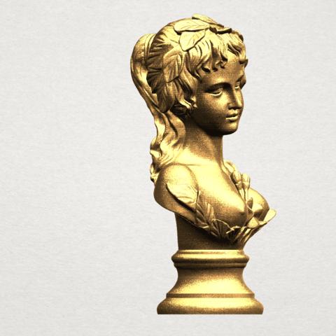 Bust of Venus 80mm - A07.png Download free STL file Bust of Venus • 3D print model, GeorgesNikkei