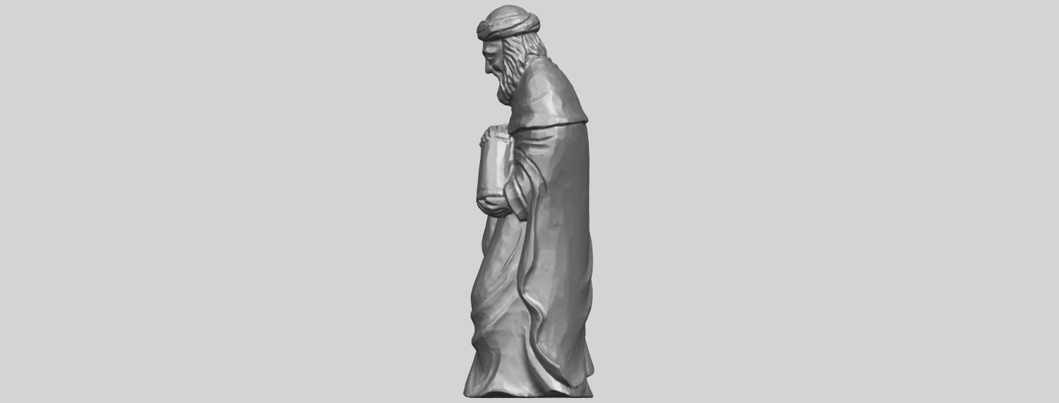 26_Sculpture_of_Arabian_88mm-A03.png Download free STL file Sculpture of Arabian • 3D print template, GeorgesNikkei