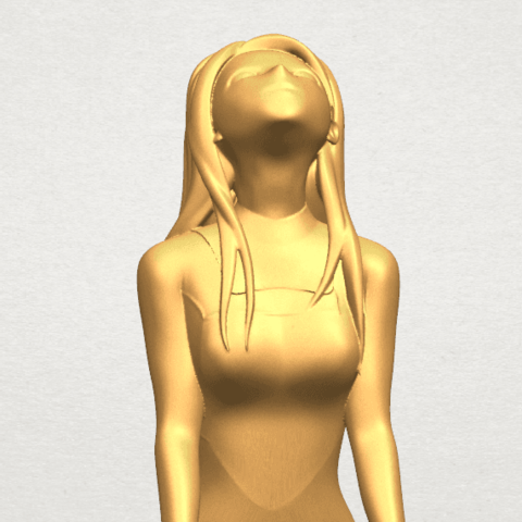 TDA0589 Girl surfing board 01 A09.png Download free STL file Girl surfing board 01 • 3D printing object, GeorgesNikkei
