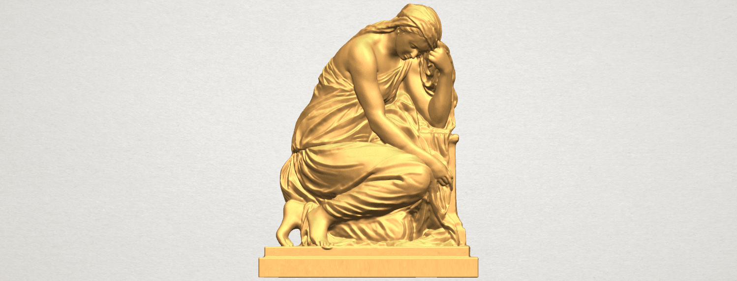 TDA0548 Sculpture of a girl 02 A01 ex500.png Download free STL file Sculpture of a girl 02 • 3D printable template, GeorgesNikkei