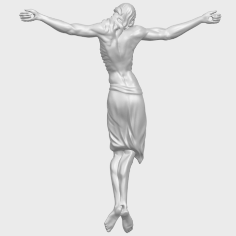 17_TDA0233_Jesus_iv_88mmA06.png Download free STL file Jesus 04 • Template to 3D print, GeorgesNikkei