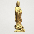 Download free STL Avalokitesvara Buddha - Standing 05, GeorgesNikkei