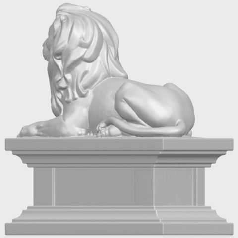 01_TDA0499_Lion_04A05.png Download free STL file Lion 04 • Template to 3D print, GeorgesNikkei