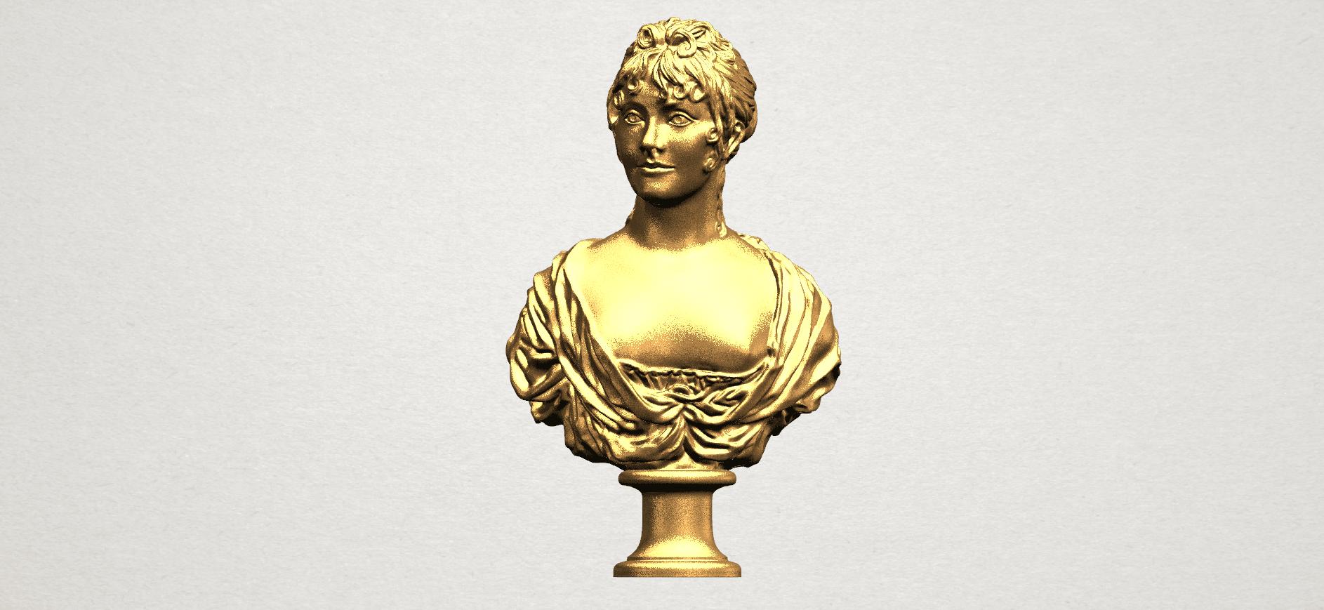 Bust of a girl 01 A01.png Télécharger fichier STL gratuit Buste d'une fille 01 • Modèle à imprimer en 3D, GeorgesNikkei