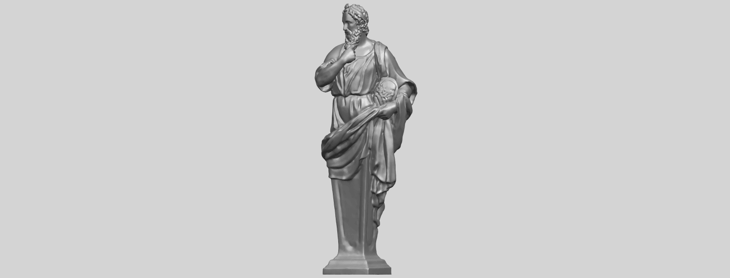 06_TDA0460_Plato_ex1900A02.png Download free STL file Plato • 3D printing template, GeorgesNikkei
