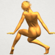 A06.png Download free STL file Naked Girl G01 • 3D printable template, GeorgesNikkei