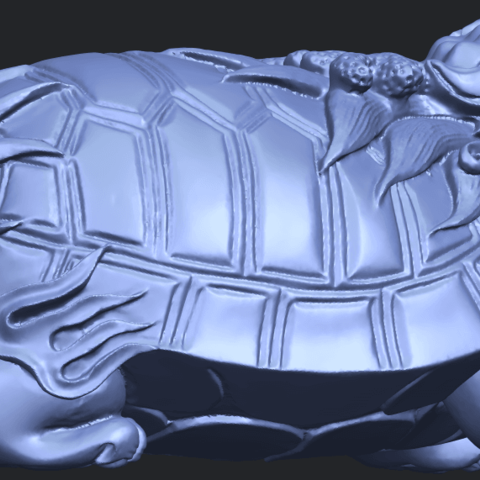 01_TDA0333_Dragon_TortoiseB06.png Download free STL file Dragon  Tortoise • Model to 3D print, GeorgesNikkei