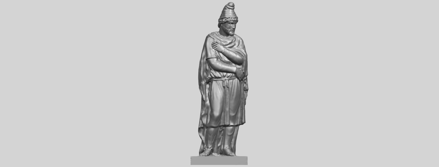 17_TDA0266_Tiridates_I_of_ArmeniaA01.png Download free STL file Tiridates I of Armenia • 3D print model, GeorgesNikkei