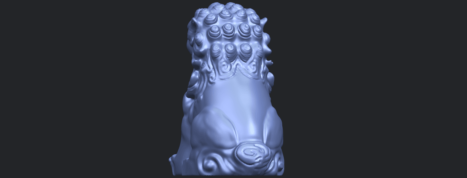 04_TDA0500_Chinese_LionB06.png Download free STL file Chinese Lion • 3D printing object, GeorgesNikkei
