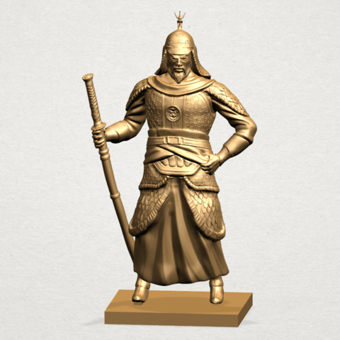 Age of Empire - warrior -B01.png Download free STL file Age of Empire - warrio • 3D print design, GeorgesNikkei
