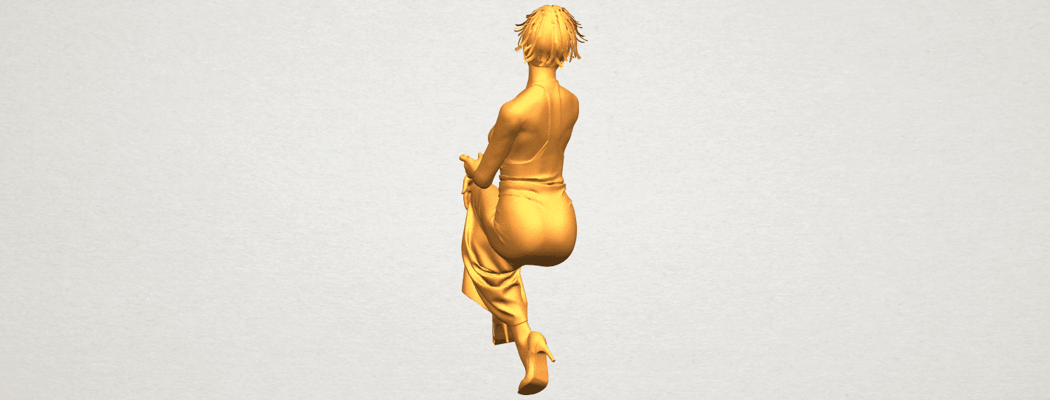 A09.png Download free STL file Naked Girl H09 • 3D printing model, GeorgesNikkei