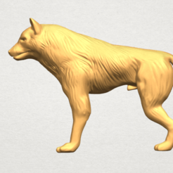 Download free 3D printer model Wolf, GeorgesNikkei