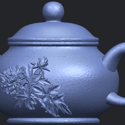 02_TDA0324_Tea_Pot_iiiB02.png Download free STL file Tea Pot 03 • 3D printing template, GeorgesNikkei