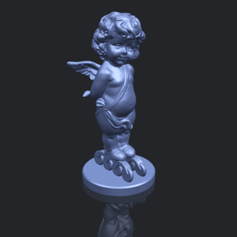 15_TDA0478_Angel_Baby_01B00-1.png Download free STL file Angel Baby 01 • 3D print template, GeorgesNikkei