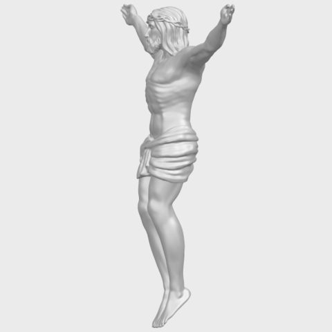 21_TDA0230_Jesus_iA03.png Download free STL file Jesus 01 - top • Object to 3D print, GeorgesNikkei