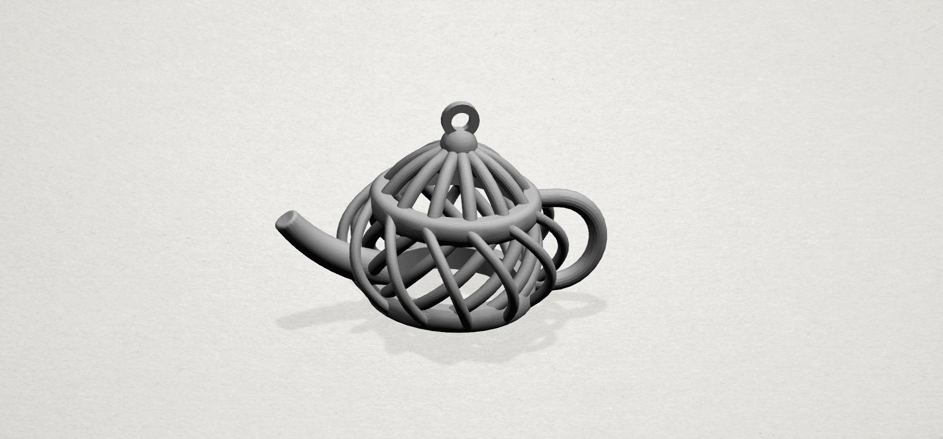 Necklace - Tea pot-A02.png Download free STL file Necklaces -Tea pot • 3D print object, GeorgesNikkei