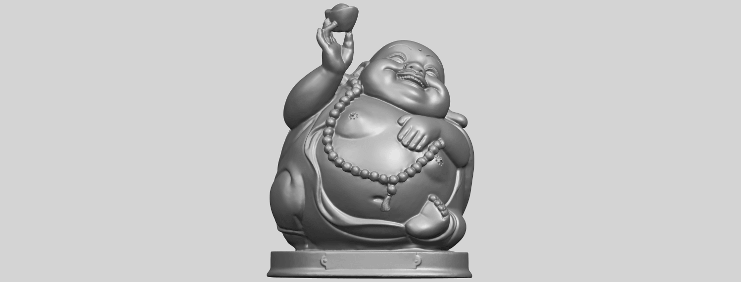 18_Metteyya_Buddha_07_-_88mmA01.png Download free 3DS file Metteyya Buddha 07 • 3D printer model, GeorgesNikkei