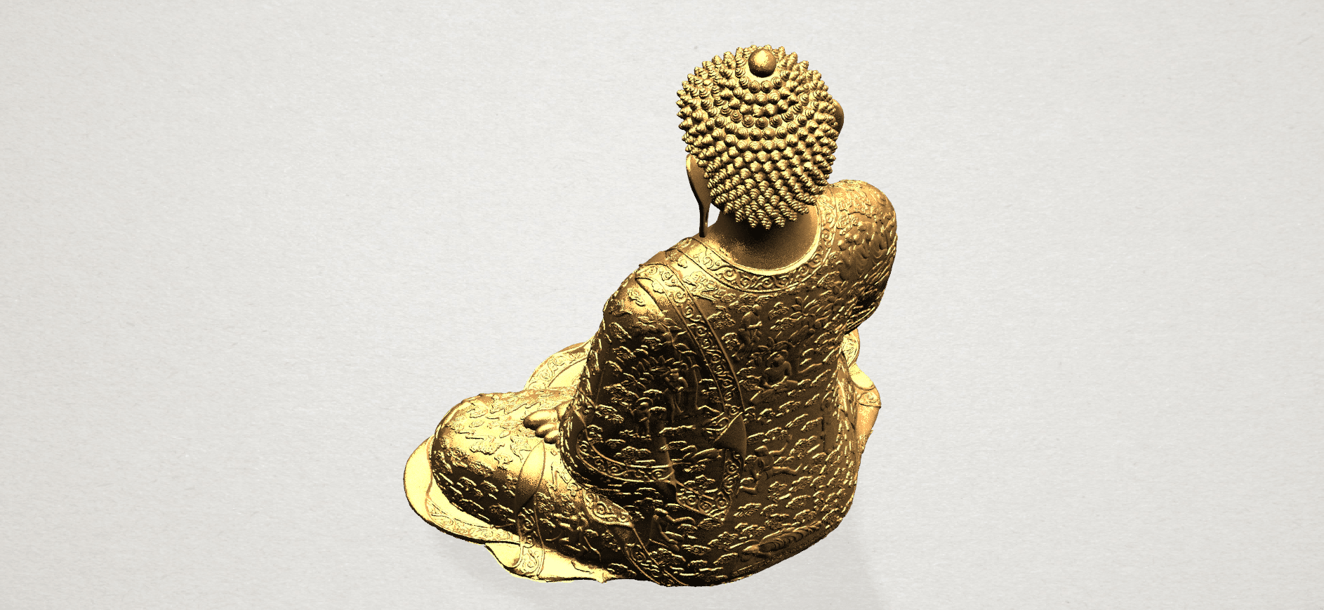 Thai Buddha(i) A10.png Download free STL file Thai Buddha (i) • Model to 3D print, GeorgesNikkei
