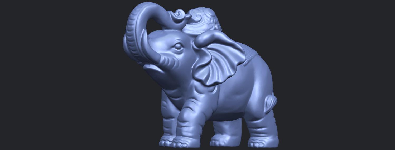 09_Elephant_02_150mmB03.png Télécharger fichier STL gratuit Eléphant 02 • Plan imprimable en 3D, GeorgesNikkei