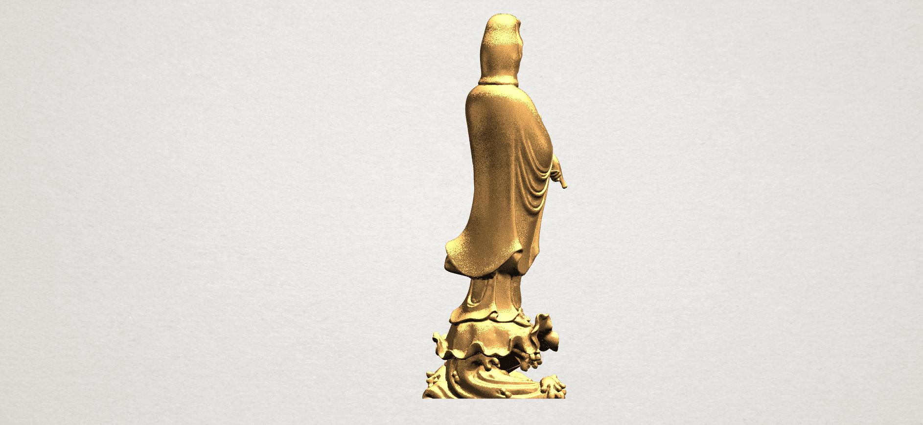 Avalokitesvara Buddha - Standing (v) A07.png Download free STL file Avalokitesvara Buddha - Standing 05 • 3D printer template, GeorgesNikkei