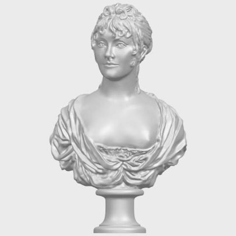 24_TDA0201_Bust_of_a_girl_01A01.png Download free STL file Bust of a girl 01 • Object to 3D print, GeorgesNikkei