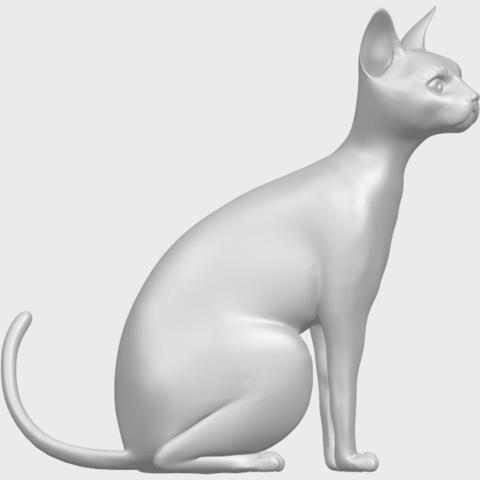 02_TDA0576_Cat_01A09.png Télécharger fichier STL gratuit Chat 01 • Modèle pour imprimante 3D, GeorgesNikkei