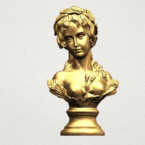 Bust of Venus 80mm - A01.png Download free STL file Bust of Venus • 3D print model, GeorgesNikkei