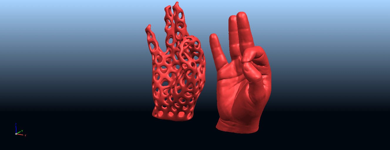 B02.png Download free STL file Voronoi Hand • Object to 3D print, GeorgesNikkei