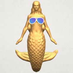 Free 3D model Mermaid 01, GeorgesNikkei