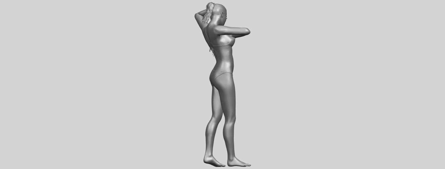16_TDA0633_Naked_Girl_D03-A09.png Download free STL file Naked Girl D03 • 3D printing template, GeorgesNikkei