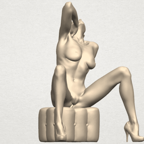TDA0289 Naked Girl B06 02.png Download free STL file  Naked Girl B06 • 3D print design, GeorgesNikkei