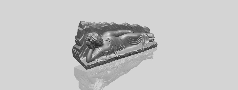 05_TDA0295_Sleeping_Buddha_iiiA00-1.png Télécharger fichier STL gratuit Bouddha Dormant 03 • Objet à imprimer en 3D, GeorgesNikkei