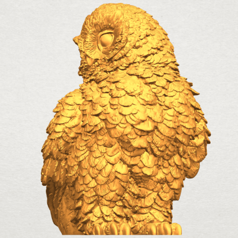 A03.png Download free STL file Owl 04 • 3D printable object, GeorgesNikkei