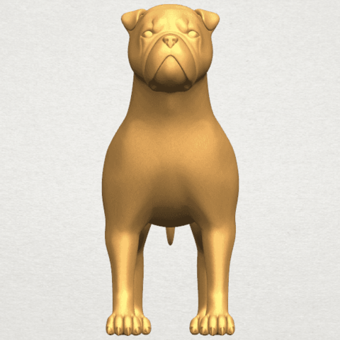 TDA0524 Bull Dog 05 A01 ex500.png Download free STL file Bull Dog 05 • 3D printer design, GeorgesNikkei