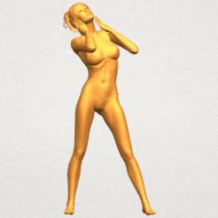 Free 3D print files Naked Girl C02, GeorgesNikkei