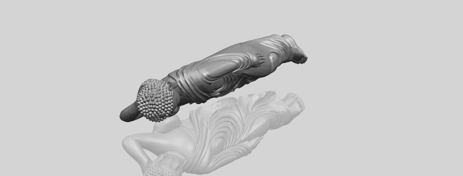 16_TDA0180_Sleeping_Buddha_(ii)_88mmA00-1.png Download free STL file Sleeping Buddha 02 • Design to 3D print, GeorgesNikkei
