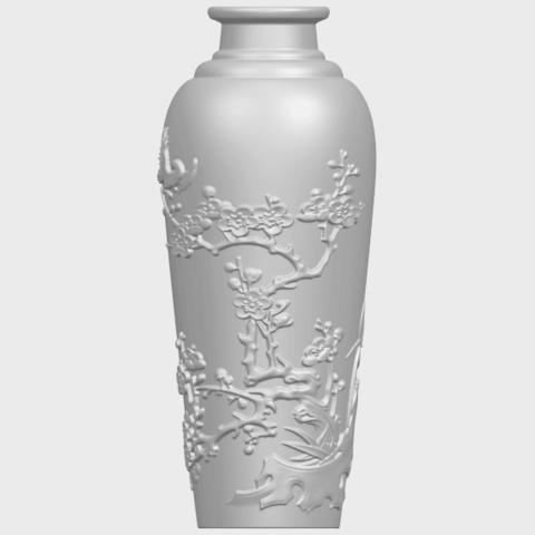 18_TDA0498_Vase_01A02.png Télécharger fichier STL gratuit Vase 01 • Modèle pour impression 3D, GeorgesNikkei