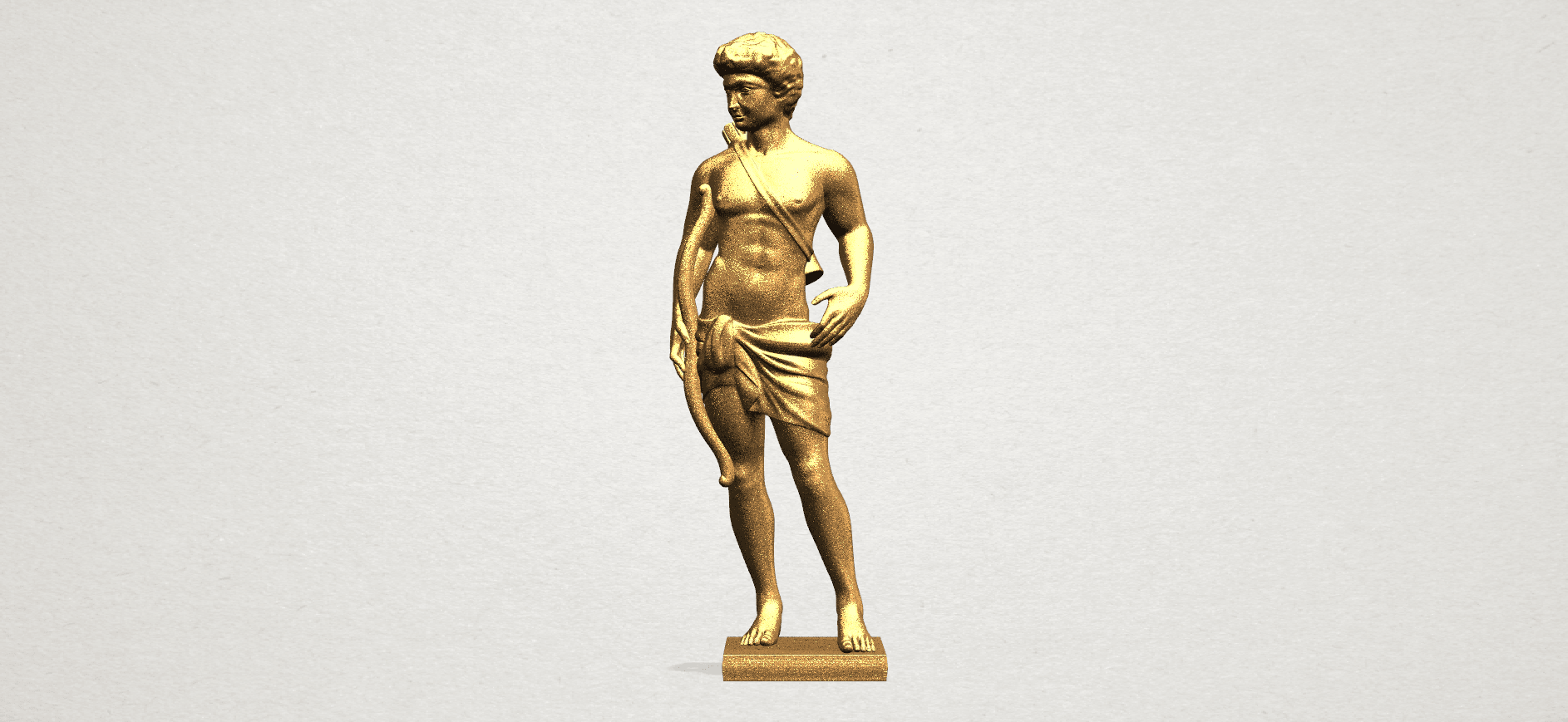Michelangelo (ii) - A01.png Download free STL file Michelangelo 02 • Template to 3D print, GeorgesNikkei