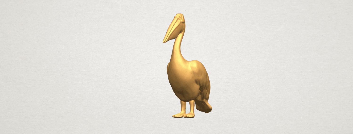 TDA0596 Pelican A08.png Download free STL file Pelican • 3D print model, GeorgesNikkei