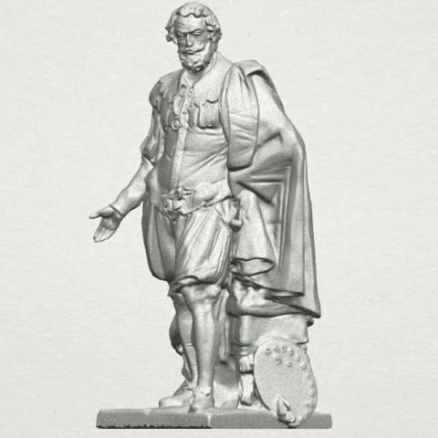 TDA0264 Peter Paul Rubens A02.png Télécharger fichier STL gratuit Peter Paul Rubens • Modèle pour imprimante 3D, GeorgesNikkei