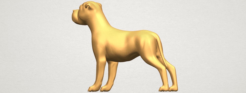 TDA0524 Bull Dog 05 A04.png Download free STL file Bull Dog 05 • 3D printer design, GeorgesNikkei