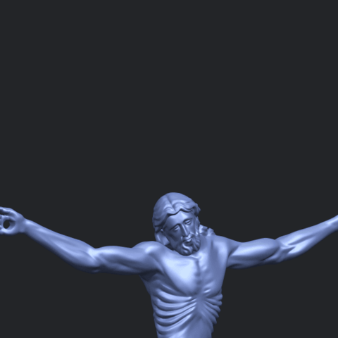 17_TDA0233_Jesus_iv_88mmA10.png Download free STL file Jesus 04 • Template to 3D print, GeorgesNikkei