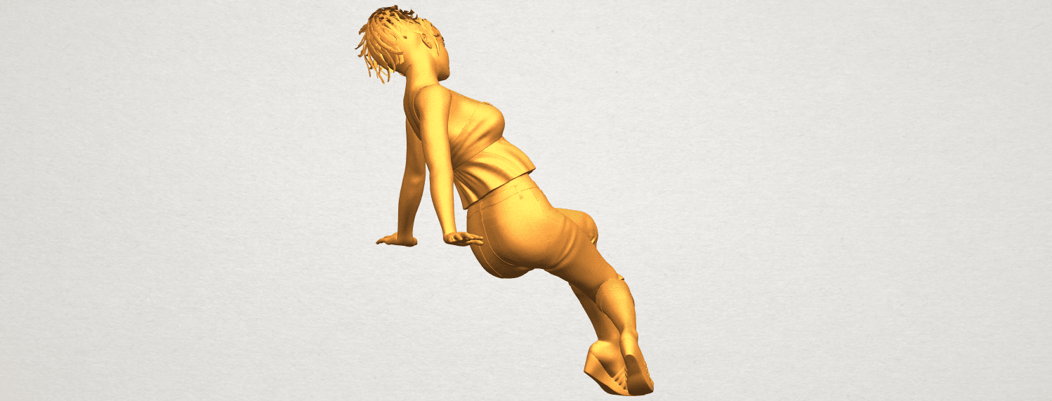 A08.png Download free STL file Naked Girl G06 • 3D printable object, GeorgesNikkei