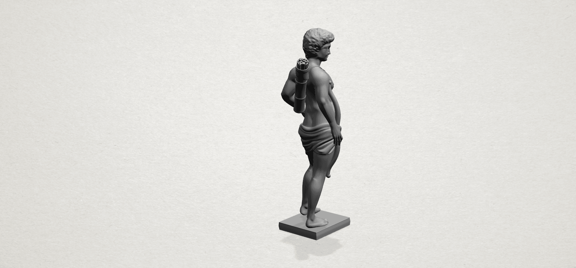 Michelangelo (ii) - C04.png Download free STL file Michelangelo 02 • Template to 3D print, GeorgesNikkei